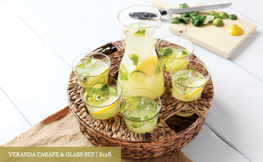 Veranda Carafe & Glass Set
