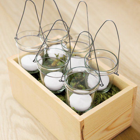 Al Fresco Hanging Tealights