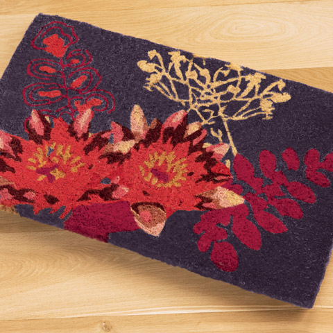 Water Lily Coir Mat