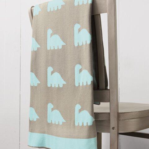 Dino Knit Blanket