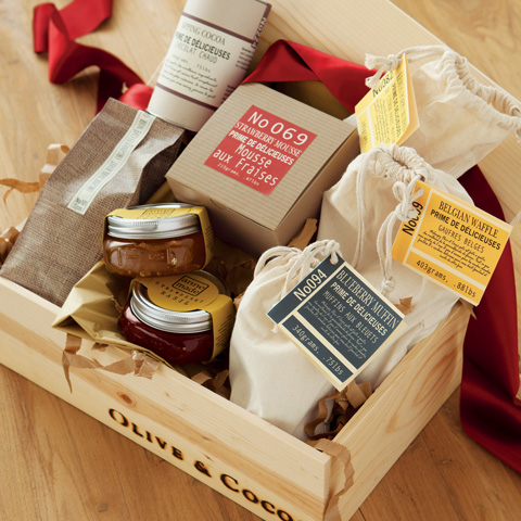Gourmet Breakfast Crate