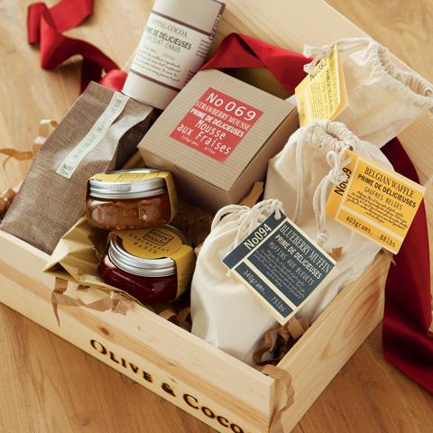 Gourmet Breakfast Crate