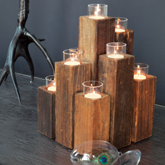 Elm Staggered Candelabra