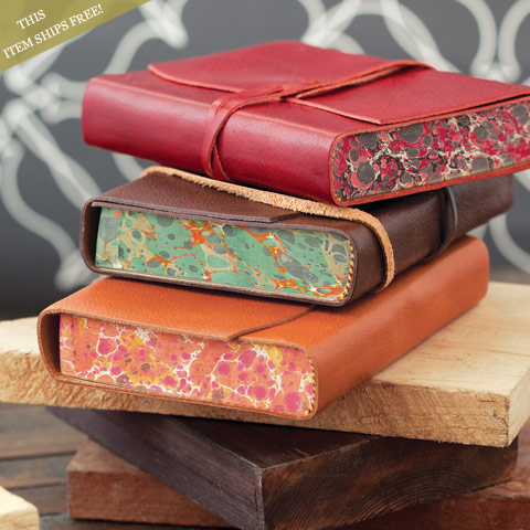 Giornale Leather Journals