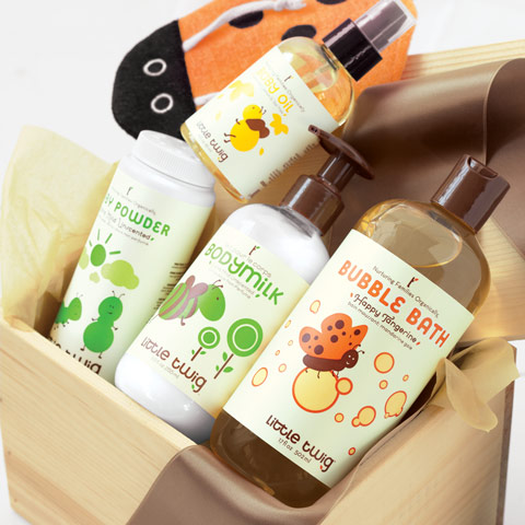 Organic Baby Bath Crate