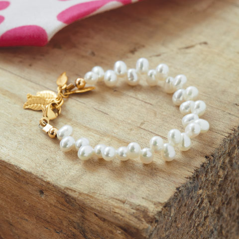 Classic Pearl Baby Bracelet