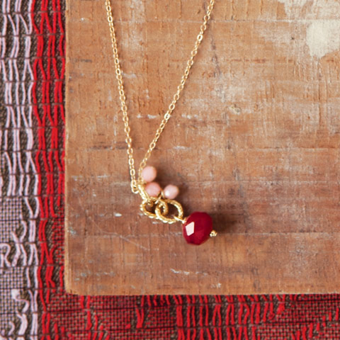 Sweetheart Drop Necklace
