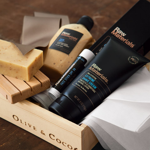 Raw Materials Spa Set For Him