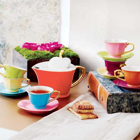 Royal Hearts Tea Set