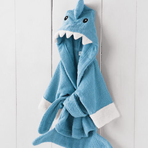 Sharky Boy Blue Robe
