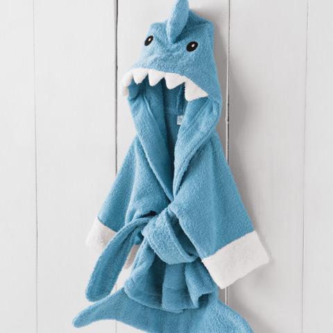 Sharky Boy Blue Robe