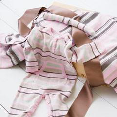 Romper & Blankie Set, Girls