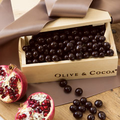 Pomegranate Chocolates