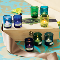 Hues Of Blue Votives