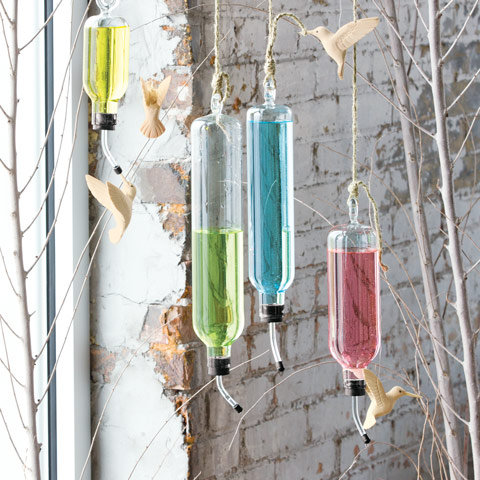 Set of 4 Hummingbird Feeders