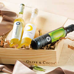 Champagne Vinegars & Meyer Lemon Olive Oil Set