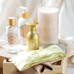 Lily Of The Valley Spa Set