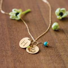 Birthstone & Charm Necklace Starter Sets