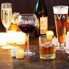 Personalized Soiree Glasses
