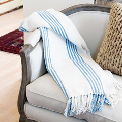 Bridgehampton Cotton Throw