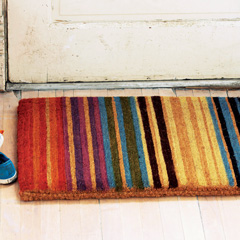 Amalfi Striped Doormat