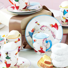 Dancing Fairy Plates &amp; Mugs