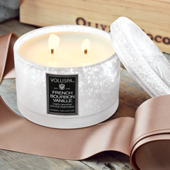 Bourbon  Vanille Candle