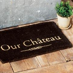 Our Château Door Mat
