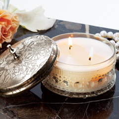 Etched Boudoir Candle