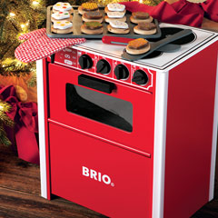 Classic Red Oven & Baking Set
