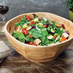 Hayes Mango Wood Salad Bowl