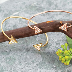 Pavé Arrow Bracelet