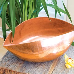 Elemental Copper Bowl