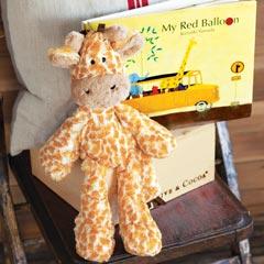 Jungle Giraffe & Storybook