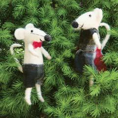 Night Before Christmas Mice