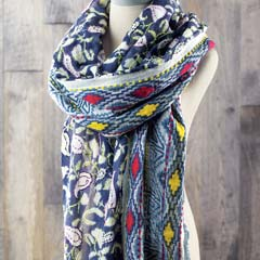 Paisley Blooms Scarf