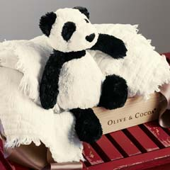 Cuddle Panda & Blanket