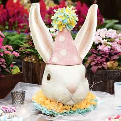 Papier Mâché Rabbit