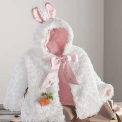 Sweet Bunny Swing Coat & Slippers
