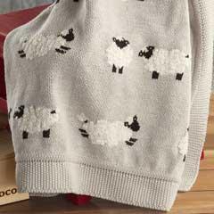Counting Sheep Heirloom Blanket