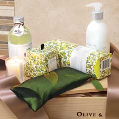 Laurel Leaf & Lemon Vine Spa Crate
