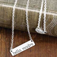 Bella Madre Silver Necklace