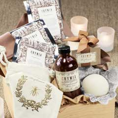 French Grapefruit & Bergamot Spa Crate